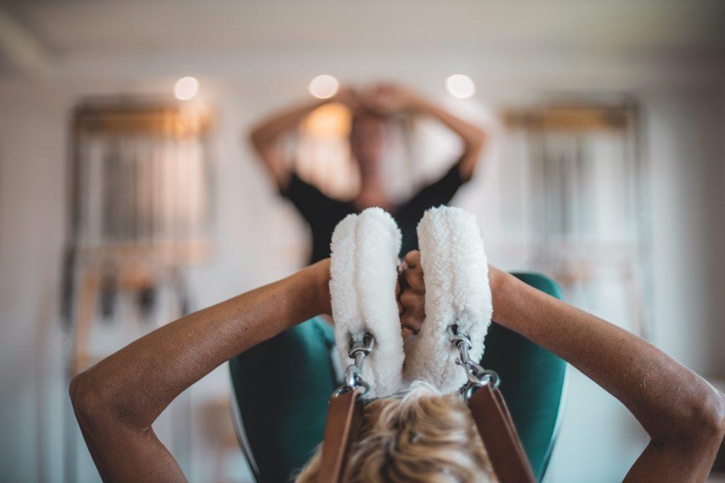 Cours de Pilates accompagné