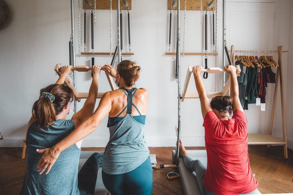 Excercices de Pilates